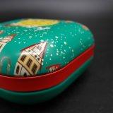 선물 포장을%s 정연한 모양 음식 주석 또는 금속 상자 (S001-V9)