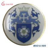 La fábrica modificó el Pin impreso de la solapa para requisitos particulares de la insignia para la promoción
