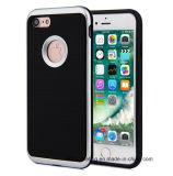 iPhone почищенное щеткой гибридом PC TPU панцыря Motomo 3in1 телефона аргументы за 8/8plus7/7plus/6s/6splus
