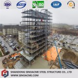 Construction préfabriquée commerciale de Chambre de qualité avec le bâti en acier léger