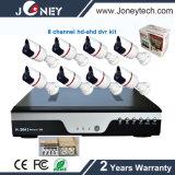 8 Channel Ahd 1080P 2 Megapixels Kits do sistema de CCTV de alta definição