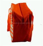 Sac isolé extérieur promotionnel rayé de pique-nique, un sac plus frais de déjeuner, sac de refroidisseur de maman