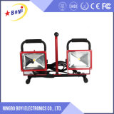 Cheap Wholesale portable LED 20W de luz de trabajo recargable