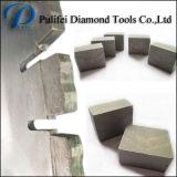 Uiteinden van de Zaag van de Diamant van de Tand van de Steen van China van het Segment van de Diamant van het graniet de Scherpe