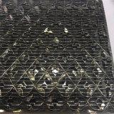 Vidrio modificado para requisitos particulares/del arte gafa de seguridad impresa seda del vidrio/con el Negro-Espejo para la decoración