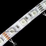 SMD5050 60LED/M 축제 훈장 RGB LED 지구 빛