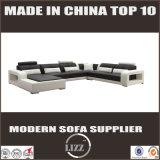 新しいデザイン高品質の居間の革ソファー(LZ-8001B)