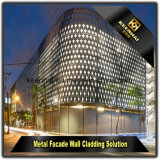 Découpage laser à l'architecture Panneaux de construction extérieure Mur de rideau en aluminium