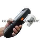 Scanner tenu dans la main androïde de code barres d'imprimante thermique de 3G Pdas