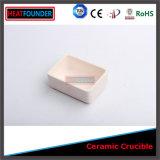 Rechthoekige Ceramische Alumina van de Hoge Zuiverheid Smeltkroes