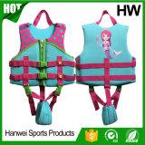 Спасательный жилет флотирования заплывания ребенка 2-Buckle люкс (HW-LJ006)