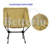 背部が付いている快適な折る腰掛けの椅子