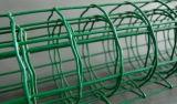 녹색 PVC 입히는 네덜란드 담 길쌈 담