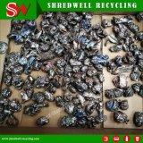 시멘스 PLC 폐기물 구리와 차 재생을%s 자동적인 금속 조각 쇄석기 장비