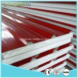 Comitati di parete ondulati d'acciaio del panino di colore di alta qualità ENV