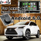 Interfaccia del sistema di percorso di GPS del Android 6.0 la video per Lexus 2011-2017 è es il GS il Ls Nx Rx ecc