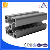 Brillo 6063-T5 de perfil de aluminio extrusionado personalizado