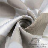 tissu 100% de pongé de polyester de jacquard du plaid 50d tissé par 290t (53238W)