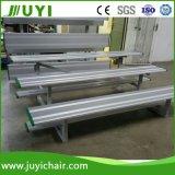 Banco di alluminio del Bleacher poco costoso del metallo Jy-717 per uso esterno