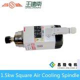 Asse di rotazione quadrato ad alta velocità di raffreddamento ad aria di 18000rpm 1.5kw per legno