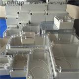 La calidad al por mayor IP65 de Hiqh impermeabiliza el pequeño rectángulo de ensambladura eléctrico al aire libre plástico