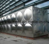 De vierkante Tank van de Opslag van het Water/de Tank van het Comité - de Tank van het Water van het Roestvrij staal SS304