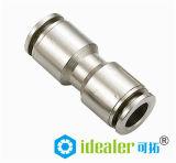Qualité Pousser-dans les garnitures en laiton pneumatiques avec du ce (MPMM3/8)