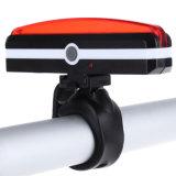 26 DE TIRA DE LEDS resistente al agua recargable luz trasera Aviso bicicleta Bicicleta Luz trasera