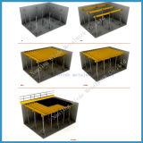 Molde flexível do feixe da laje do material de construção