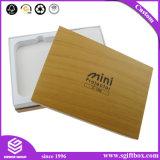 Роскошная коробка подарка картона Debossing бумажная для косметический упаковывать