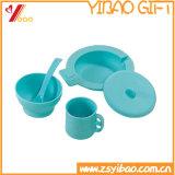 Coperchio termoresistente della tazza del silicone di alta qualità di modo con la stuoia della tazza (YB-HR-80)