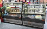 Schöner Aussehen-Kuchen-Schaukasten-Qualitäts-Imbiss-Schaukasten hergestellt in China