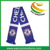 New Design Football Fans Knitting Scarf para Eventos