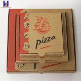 Rectángulo de papel del cartón de la pizza para los almacenes de la pizza