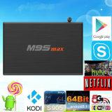 Casella astuta Android all'ingrosso Amlogic S905 M9smax della parte superiore del set televisivo