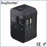 Populärer privater vorbildlicher Arbeitsweg-Adapter mit 2 USB-Kanälen (XH-UC-038)