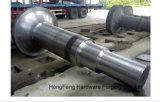Arbre de turbine de l'eau de pièce forgéee d'arbre de roue de turbine