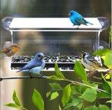 4 tazas de succión de trabajo pesado alimentador de pájaros de ventana de acrílico