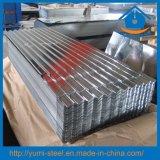 Gewölbte Aluminiumstahldach-/Wand-Umhüllung-Metallblätter für Baumaterial
