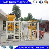 Máquinas semi-automáticas de tijolo de bloqueio oco