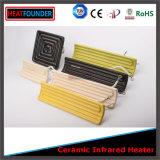 Plaque chauffante infrarouge en céramique à haute efficacité personnalisée