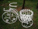 Sostenedor de crisol del plantador de la bicicleta del metal
