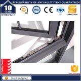 Finestra di alluminio standard di vetratura doppia Australia del grano di legno (50)