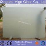 Стекло украшения, кислота вытравило стекло листа (3mm-19mm)