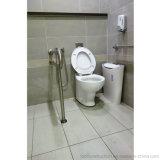 Штанга самосхвата туалета формы Ada уступчивая u стали 304 Staniless с поддержкой ноги