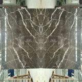 中国の暗いEmperador Stローレントの白い金の新しい大理石