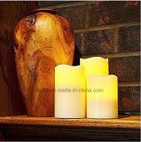 Непламенная желтая оптовая продажа света чая батареи СИД фликера