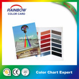 Изготовленный на заказ карточка цвета Pantone печатание памфлета
