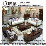 845として居間の家具のためのアメリカの現代デザイン本革のソファー
