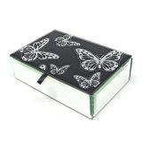 Heißes Verkaufs-Schwarz-Glasschmucksache-Kasten